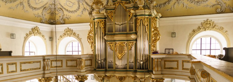 Die Orgel in Bindlach